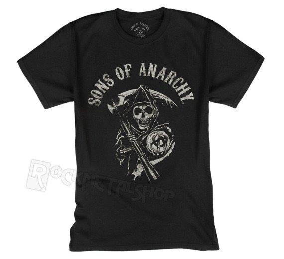 koszulka SONS OF ANARCHY - MAIN LOGO
