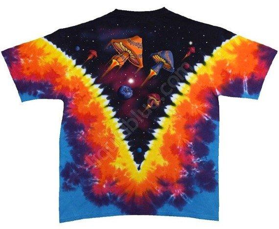 koszulka SPACE SHROOMS barwiona