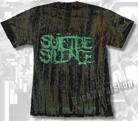 koszulka SUICIDE SILENCE barwiona