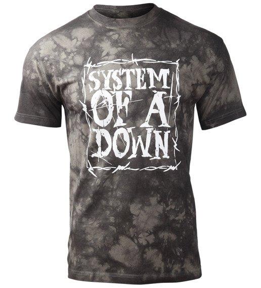 koszulka SYSTEM OF A DOWN - LOGO barwiona