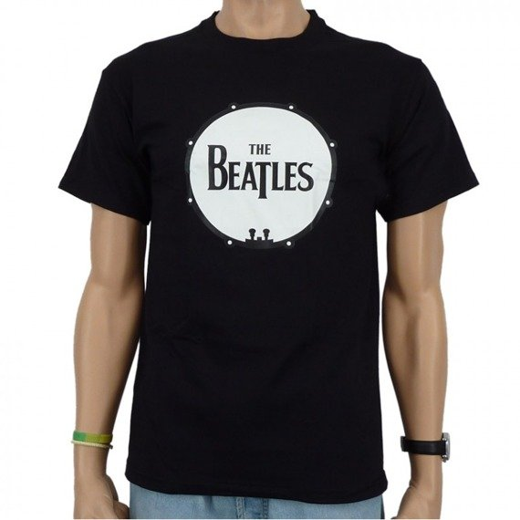 koszulka THE BEATLES - DRUM LOGO