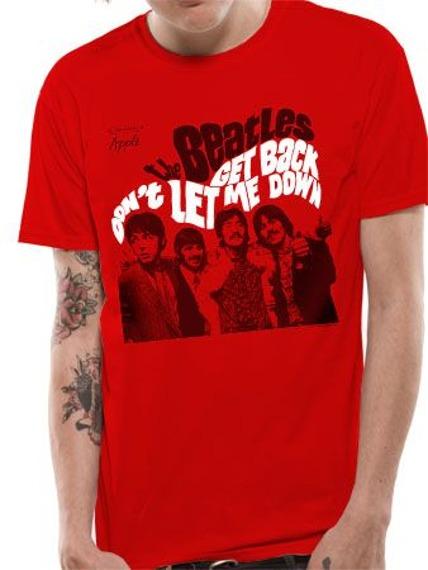 koszulka THE BEATLES - GET BACK / DON'T LET ME DOWN