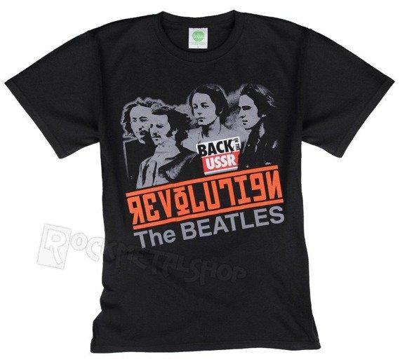 koszulka THE BEATLES - REVOLUTION, BACK IN THE USSR