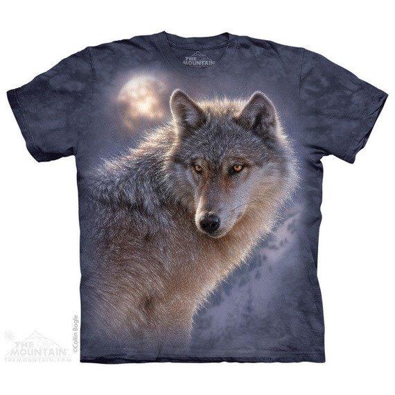 koszulka THE MOUNTAIN - ADVENTURE WOLF, barwiona