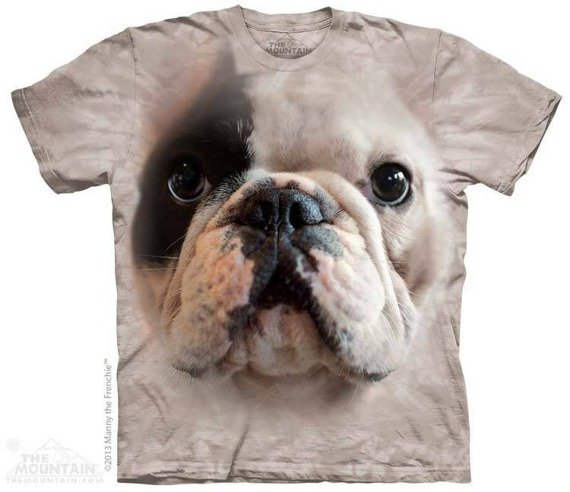 koszulka THE MOUNTAIN - BIG FACE MANNY, barwiona
