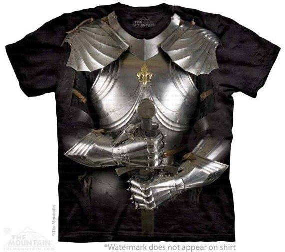 koszulka THE MOUNTAIN - BODY ARMOR, barwiona