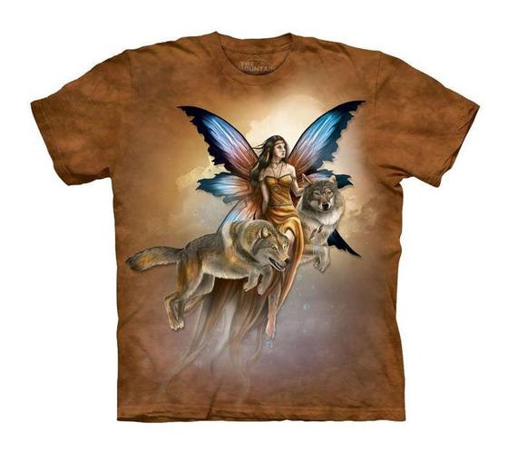 koszulka THE MOUNTAIN - SPIRITED COMPANIONS, barwiona
