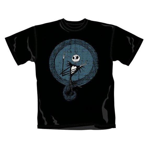 koszulka THE NIGHTMARE BEFORE CHRISTMAS - JACK BLUE CIRCLE