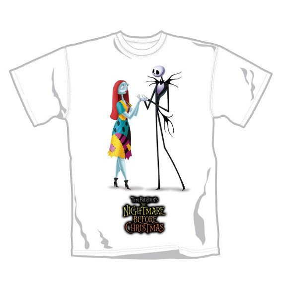 koszulka THE NIGHTMARE BEFORE CHRISTMAS - JACK & SALLY