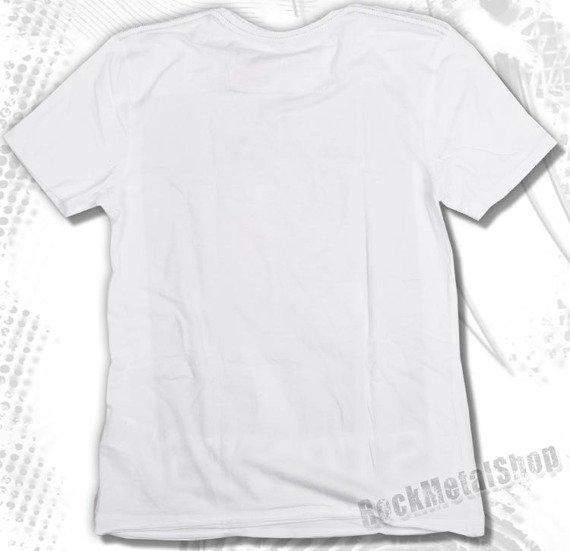 koszulka THE ROLLING STONES - OUT OF CONTROL biała