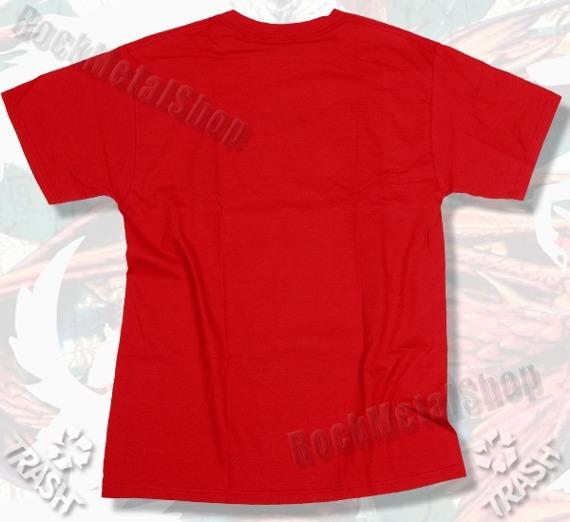koszulka TRASH NEKRO GANGSTA czerwona