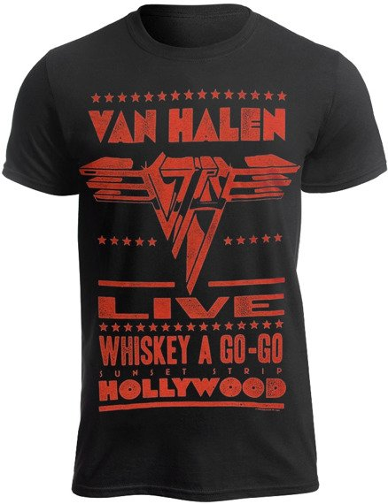 koszulka VAN HALEN - WHISKEY