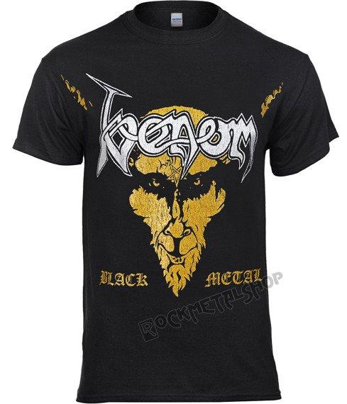 koszulka VENOM - BLACK METAL DISTRESSED