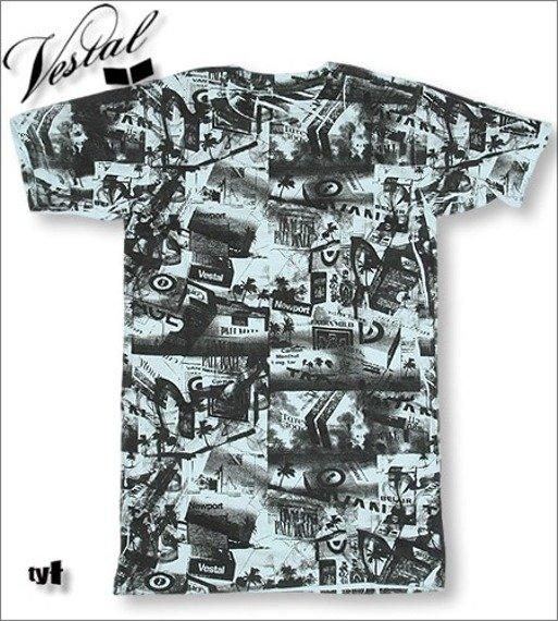 koszulka VESTAL -TOBACO (BLUE)  KVEST-007