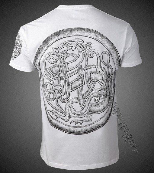 koszulka VIKING - AFTER THE BATTLE biała