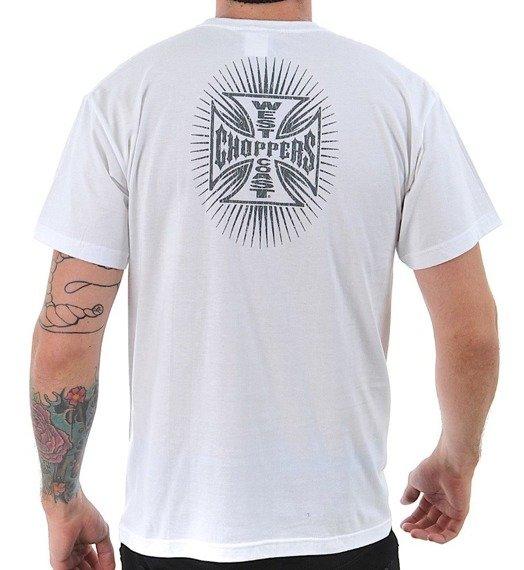koszulka WEST COAST CHOPPERS - BATTLE white