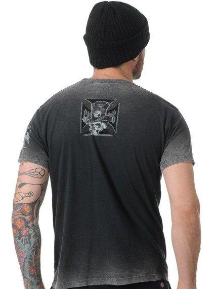 koszulka WEST COAST CHOPPERS - CASH ONLY TEE BLACK/GREY
