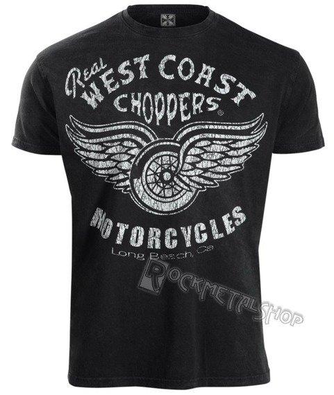 koszulka WEST COAST CHOPPERS - REAL WCC vintage black