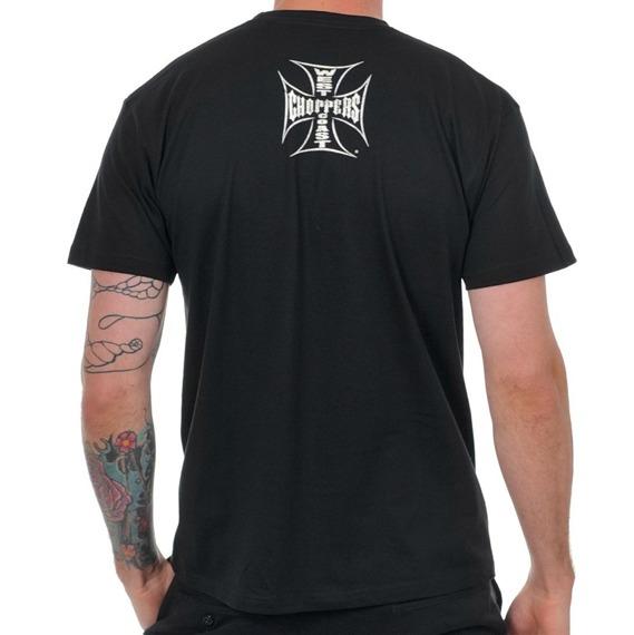 koszulka WEST COAST CHOPPERS - SKULL SPANNER