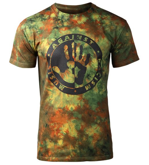 koszulka barwiona MUSIC AGAINST RACISM