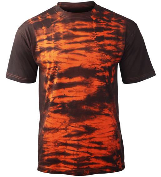 koszulka barwiona ORANGE