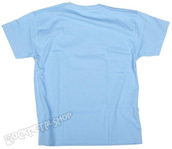 koszulka dziecięca BLACK ICON - UNICORPSE jasnoniebieska (JICON105)