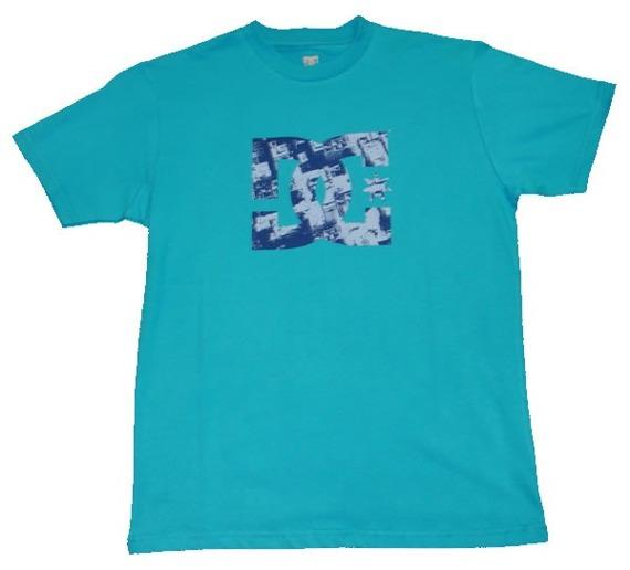 koszulka   męska -DC ROOFSTAR błękitna
