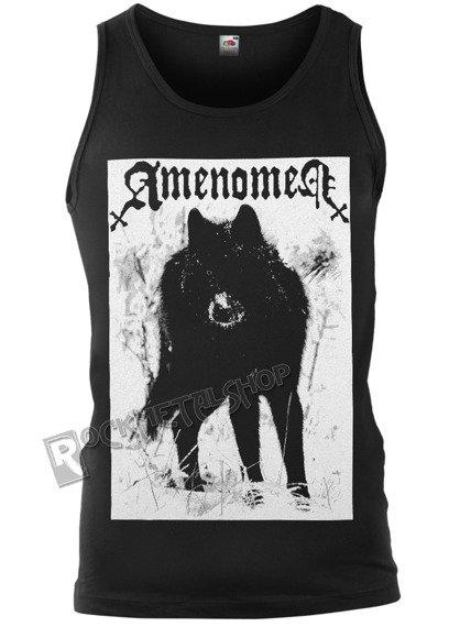 koszulka na ramiączkach AMENOMEN - SNOW WOLF (OMEN037KR BLACK)