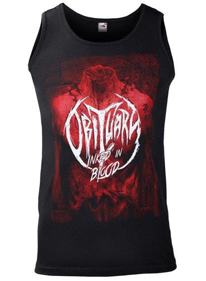 koszulka na ramiączkach OBITUARY - INKED IN BLOOD