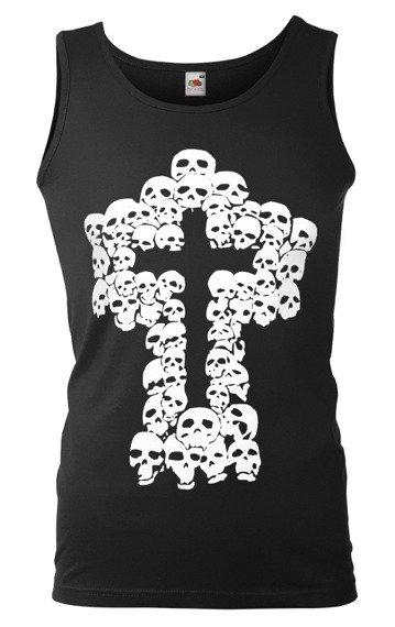 koszulka na ramiączkach SKULLS CROSS