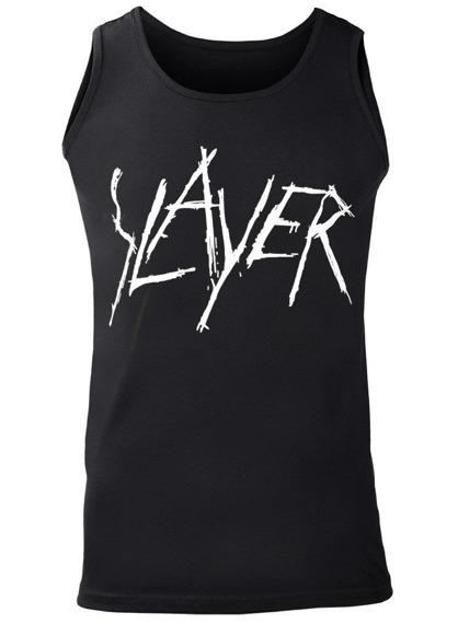 koszulka na ramiączkach SLAYER - LOGO