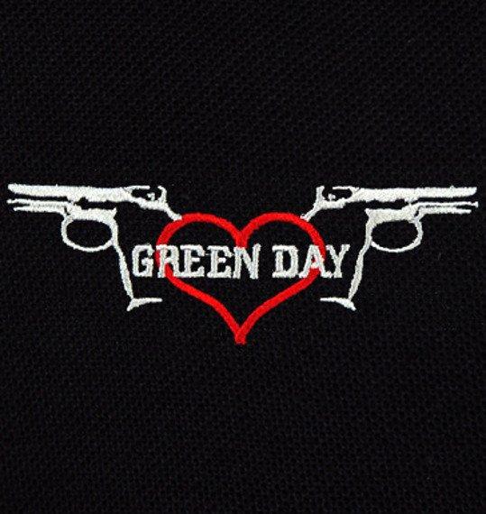 koszulka polo GREEN DAY - PISTOLS