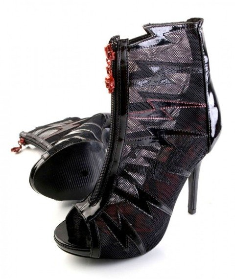 kozaczki IRON FIST - SURVIVOR GLADIATOR HEEL (BLACK)