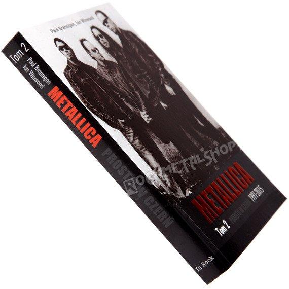 książka METALLICA Tom 2: PROSTO W CZERŃ 1991-2015