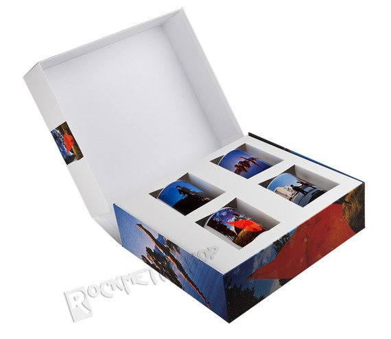 kubek PINK FLOYD - WISH YOU WERE HERE COLLECTOR'S EDITION, zestaw 4 kubków kolekcjonerskich