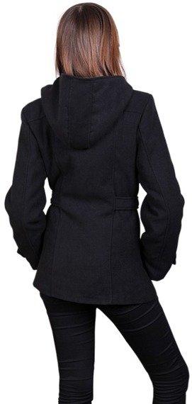 kurtka damska z kapturem (Black)