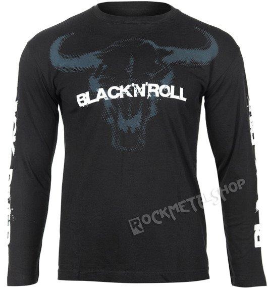 longsleeve BLACK RIVER - BLACK'N'ROLL black