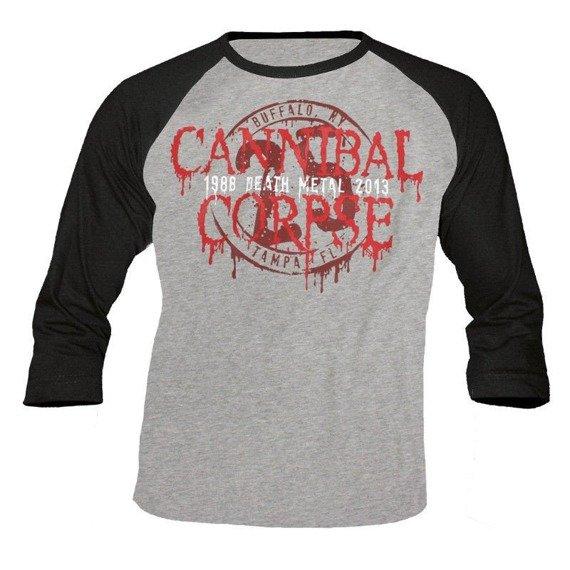 longsleeve CANNIBAL CORPSE - 25 YEARS rękaw 3/4