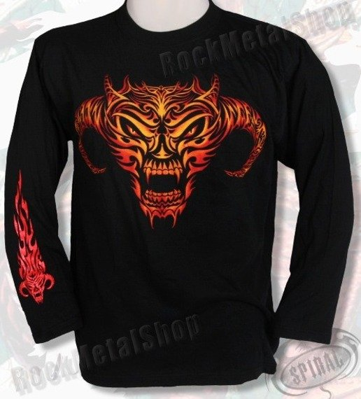 longsleeve FIRE DEMON