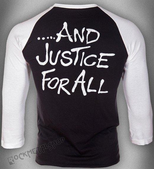 longsleeve METALLICA - JUSTICE, rękaw 3/4