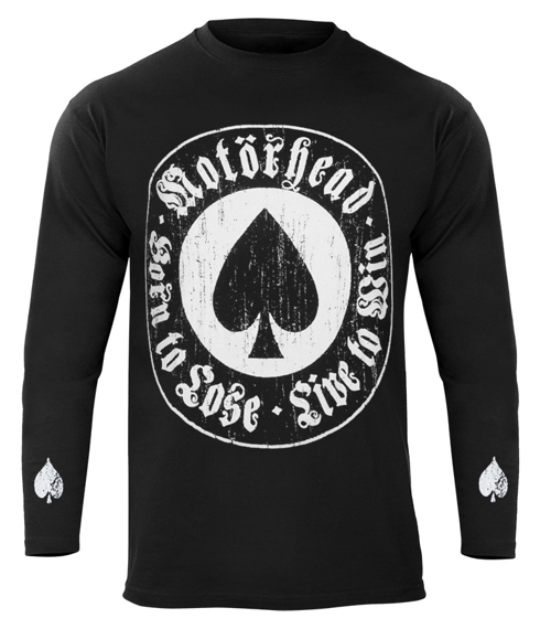 longsleeve MOTORHEAD - BORN TO LOSE LIVE TO WIN