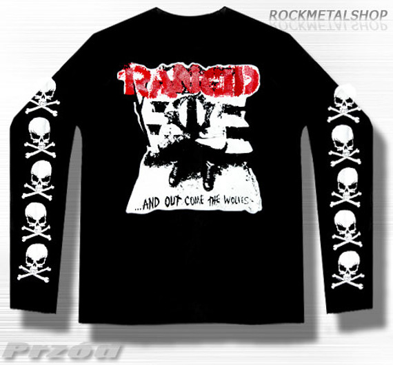 longsleeve RANCID - AND OUT COME THE VOLVES
