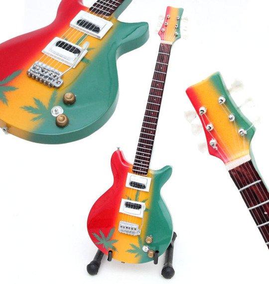 miniaturka gitary BOB MARLEY - THE WAILERS PRS MARIJUANA (17360COSM)