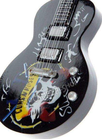 miniaturka gitary GUNS N' ROSES LP TRIBUTE