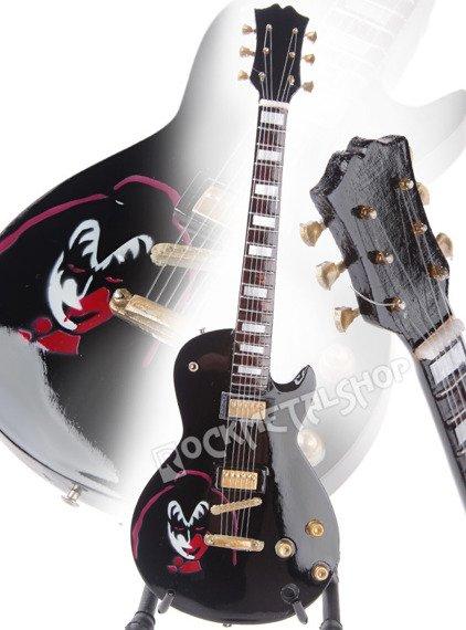miniaturka gitary KISS - GENE SIMMONS LES PAUL BLACK