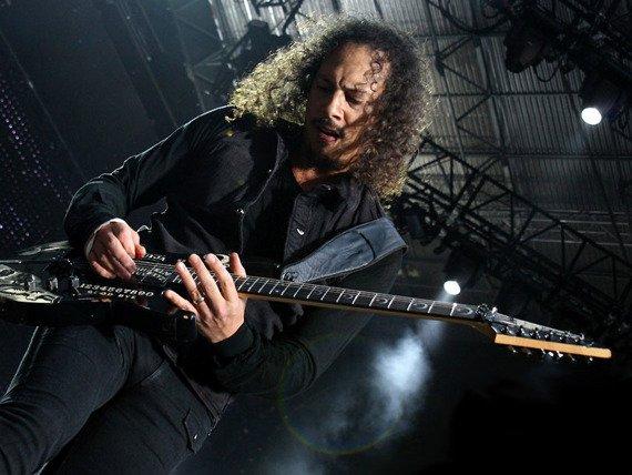 "miniaturka gitary METALLICA - KIRK HAMMETT KH-2 ""OUIJA"" black"