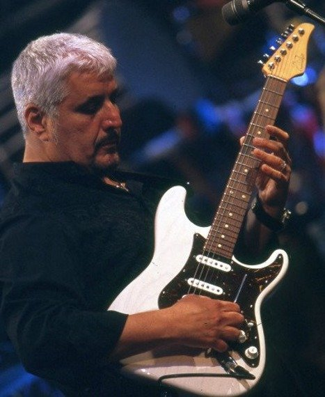 miniaturka gitary PINO DANIELE - WHITE STRAT