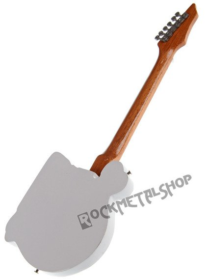 miniaturka gitary POISON - C.C. DEVILLE: B.C. RICH SKELETON