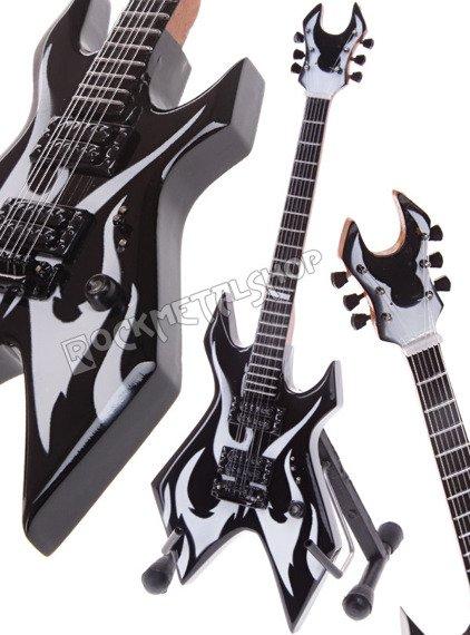 miniaturka gitary SLAYER - KERRY KING: BC RICH WARLOCK WARTRIBE