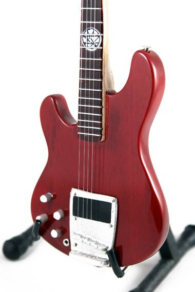 miniaturka gitary SLIPKNOT - PAUL GRAY: IBANEZ PGB1 BGW BASS